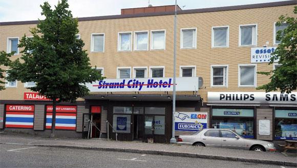 Entré Strand City Hotell